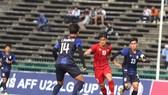U22 Việt Nam đã có chiến thắng trước khi chia tay với giải. Ảnh: Đoàn Nhật