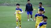 Quang Hải sẽ là thủ lĩnh của U23 Việt Nam sắp tới. Ảnh: MINH HOÀNG