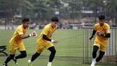 Tiến Dũng chắc suất số 1 ở đội tuyển U23 Việt Nam. Ảnh: MINH HOÀNG