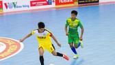 Sanna Khánh Hòa (áo xanh) thắng cách biệt 9-1 trước V&V FC