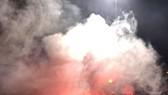 Sân Hàng Đẫy trong trận Hà Nội - Hải Phòng vào tối 21-4. Ảnh: MINH HOÀNG