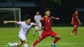 U22 Việt Nam thắng Viettel 2-0 vào chiều 24-7. Ảnh: MINH HOÀNG