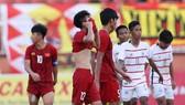 U18 Việt Nam với nỗi buồn trên sân nhà. Ảnh: DŨNG PHƯƠNG