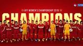 Đội tuyển nữ Việt Nam, tân vô địch Đông Nam Á 2019