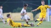 U16 Việt Nam không thể vượt qua Australia ở trận quyết định. Ảnh: Đoàn Nhật