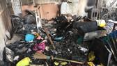Cháy nhà kho trường mầm non tư thục ở Hà Nội, cô trò tháo chạy