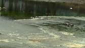 Nước thải sủi bọt vàng, bốc mùi hôi chảy thẳng ra biển Đà Nẵng