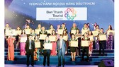 BenThanh Tourist nhận giải thưởng Tốp 10 DN lữ hành hàng đầu TPHCM