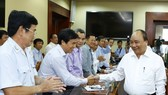 Prime Minister Nguyen Xuan Phuc in Ba Ria - Vung Tau (Source: VNA)