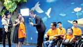 The 'White Pigeon' room for children opens at War Remnants Museum in HCMC. (Photo: Sggp)