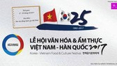 Vietnam – Korea food & culture festival 2017 to open next week