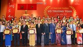 The award ceremony of the 20th Vo Truong Toan Award is organized in HCM City on November 19. (Photo: Sggp)