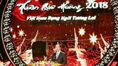 President Tran Dai Quang at the Xuan Que Huong (Homeland Spring) 2018 festival. (Photo: VNA)