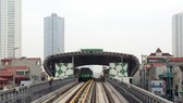 he Cat Linh-Ha Dong elevated railway line will start its test run on September 2. (Photo: VNA)