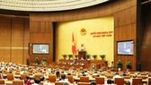 Socio-economic issues are high on the agenda of the National Assembly on May 25 and 26 (Photo: VNA)