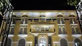 The Ho Chi Minh City Museum of Fine Arts is illuminated at night. (Photo: VNA)
