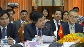 Vietnamese Minister of Planning and Investment Nguyen Chi Dung speaks at the event (Source: VNA)