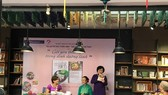A book event at Book Pedestrian Street in downtown HCM City. (Source: VNA)