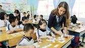 Lớp tiếng Anh tích hợp của Trường Tiểu học Trần Bình Trọng (quận 5)