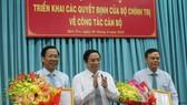 Chuẩn y đồng chí Phan Văn Mãi giữ chức Bí thư Tỉnh ủy Bến Tre