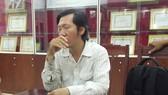 Nguyễn Tấn Quan, đối tượng giả danh phóng viên Báo SGGP khi bị phát hiện, bắt giữ tại Hội Liên hiệp Phụ nữ TPHCM
