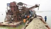 Dừng cấp phép dự án xã hội hóa tận thu cát