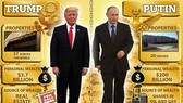 Putin giàu vượt xa Trump?