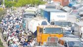Tập trung giải quyết ùn tắc giao thông