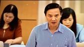 Ông Nguyễn Khắc Định, Chủ nhiệm Uỷ ban Pháp luật của Quốc hội
