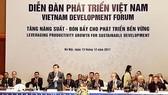 Bộ trưởng Bộ Kế hoạch và Đầu tư Nguyễn Chí Dũng phát biểu khai mạc Diễn đàn