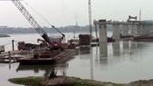 Cầu Việt Trì- Ba Vì đang thi công
