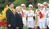 Lễ đón chính thức Tổng Bí thư, Chủ tịch nước Trung Quốc Tập Cận Bình