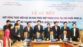 Lễ ký kết hợp đồng thực hiện dự án Khu phức hợp thông minh