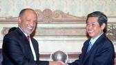 Lãnh đạo TPHCM tiếp Chủ tịch AFC