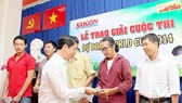 Báo SGGP trao giải cuộc thi Dự đoán World Cup 2014
