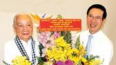 Lãnh đạo Thành ủy TPHCM thăm các thầy thuốc lão thành