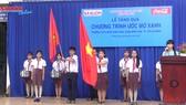 Chương trình Ước mơ Xanh báo SGGP tặng quà tại Bình Tân