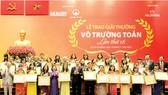 33 nhà giáo TPHCM đạt Giải thưởng Võ Trường Toản năm 2016