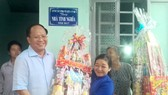 Charity houses, gifts given to poor people on occasion of Tet holidays