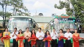 HCMC opens new bus route linking district 8 with Tien Giang Province