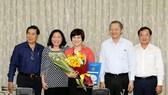 Bà Trương Thị Minh Kiều giữ chức Phó Chủ tịch UBND quận 5