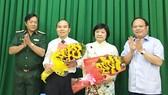 Đồng chí Đặng Thị Hồng Liên giữ chức Bí thư Quận ủy quận 9