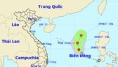 Trong 24 giờ tới, áp thấp nhiệt đới suy yếu dần thành một vùng áp thấp