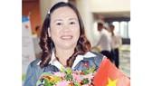 HLV Hồ Thị Từ Tâm vừa được bổ sung vào danh sách trọng điểm. Nguồn: tư liệu