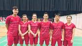 Tuyển cầu lông Việt Nam gặp bất lợi vì vắng Vũ Thị Trang