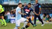 Serie A, vòng 6: Napoli thắng nhọc Spal, Dybala tỏa sáng trận derby