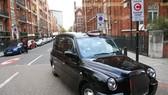 英國倫敦街頭的傳統計程車。(圖片來源:互聯網)