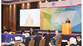 政府總理阮春福在會上致詞。