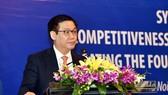 王廷惠副總理在會上致詞。