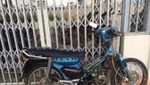 Chiếc xe vi phạm đã được đưa về Công  an huyện Phú Thiện